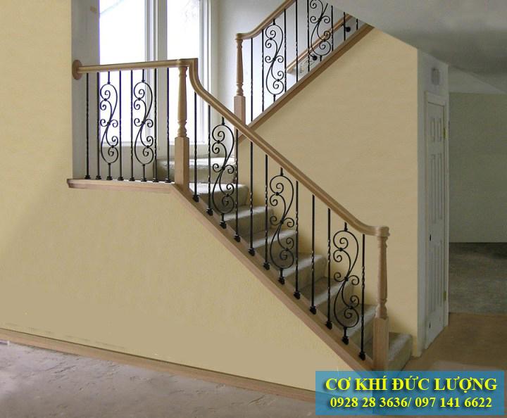 Cầu thang săt đẹp nhất CT3011