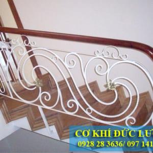 Cầu thang sắt đẹp nhất CT3002