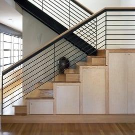 Cầu thang sắt CT1308