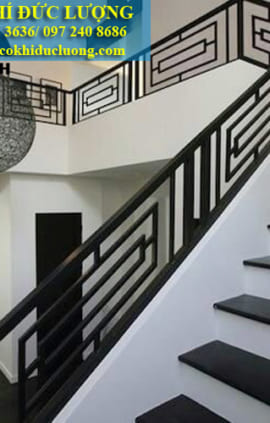 Cầu thang sắt đẹp CT3040