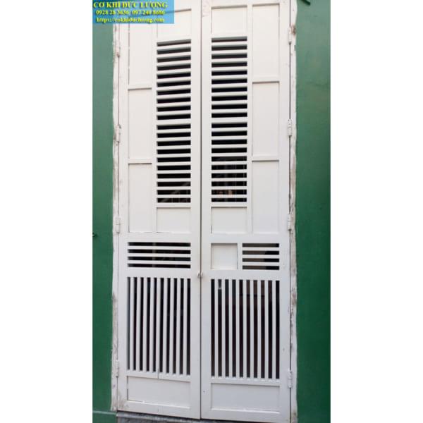 Mẫu cửa cổng 2 cánh nhà chung cư hoặc nhà nhỏ CS1998