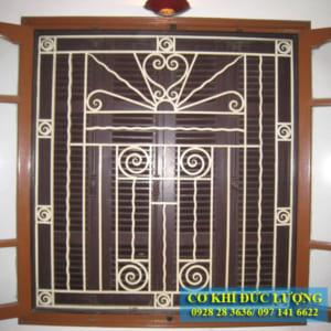Mẫu cửa sổ sắt đẹp SH12