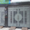 Cửa cổng sắt hộp sơn tĩnh điện đẹp CS2010
