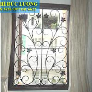 Mẫu hoa sắt cửa sổ đẹp SH22