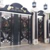 Mẫu cửa cổng sắt nhà biệt thự CS2003