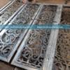 Mẫu cửa cổng inox cắt CNC cực đẹp 4 cánh CS2032